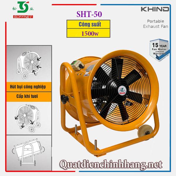 quạt hút gió di động soffnet sh2t-50