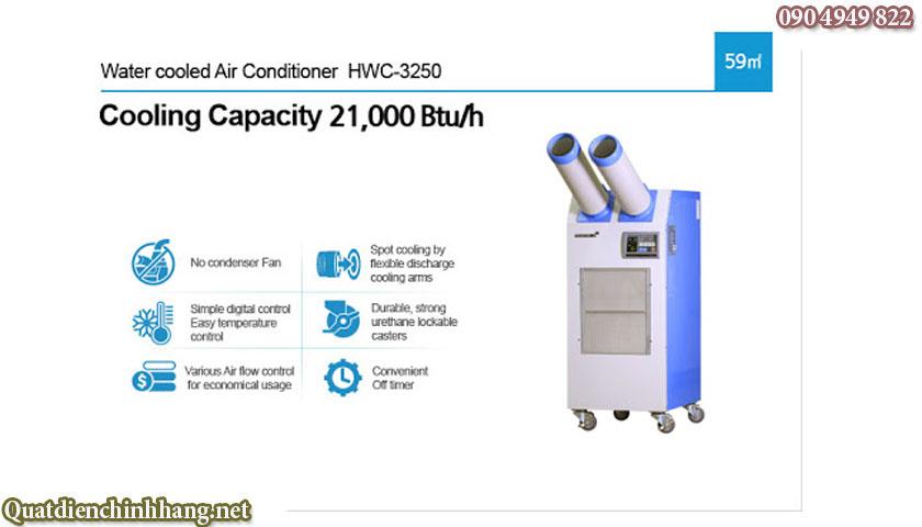 điều hòa di động airrex hwc-3250