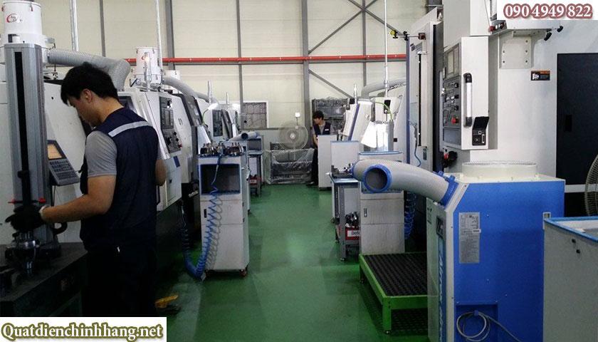 Máy lạnh Airrex HSC-2500 sử dụng trong công nghiệp