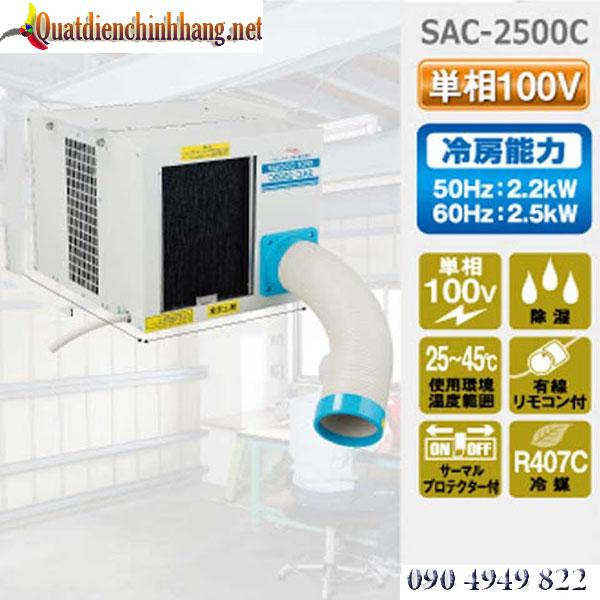 Máy lạnh di động Nakatomi SAC-2500