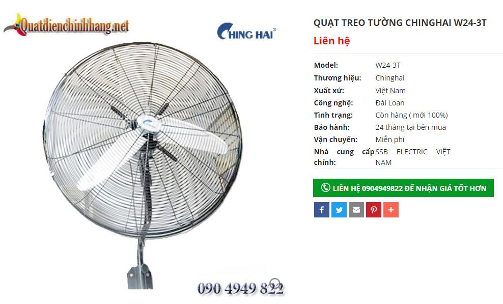quat cong nghiep chinghai w24 3t