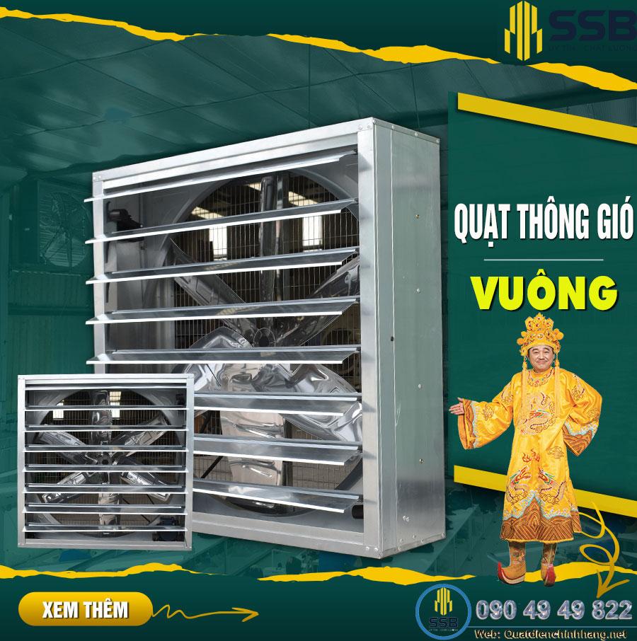Quạt thông gió công nghiệp 400×400