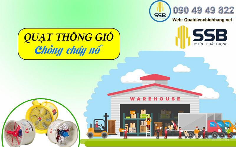 quat thong gio chong chay no
