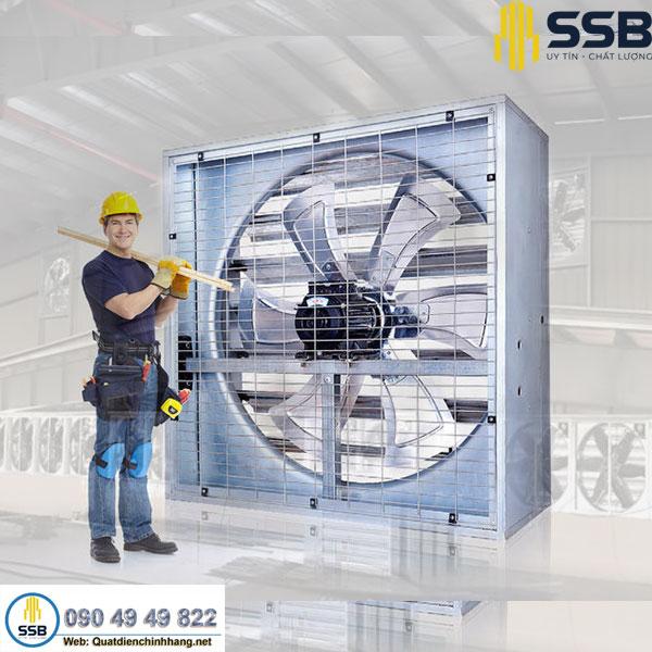 Những điều cần biết về quạt thông gió công nghiệp
