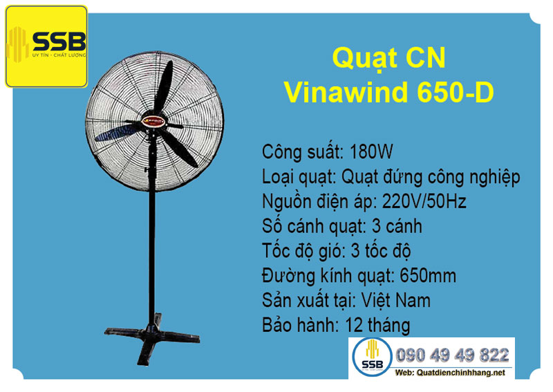 quat dung cong nghiep vinawind canh 750